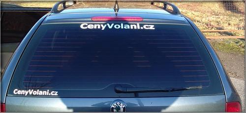 Cenyvolani v ČR - reklama